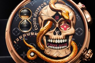 louis vuitton Tambour Carpe Diem, horloge, half miljoen