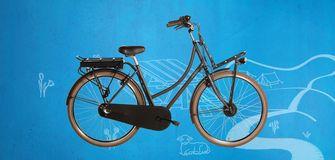albert heijn, ah, e-bike, elektrische fiets, vilette le robuste