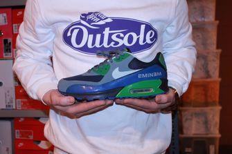 Outsole, Nike Air Max, beleggen, Sneakers, Nike Air Max 90 Eminem Charity Series.