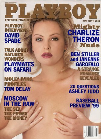 charlize theron, playboy cover