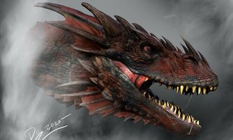 concept art, game of thrones, spin-off, draak, house of the dragon, serie, teaser