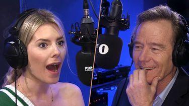 Bryan Cranston grap BBC Mollie King