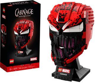 LEGO onthult brute Marvel en Batman-helmen en bustes