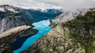 wandelen, noorwegen, trolltunga, hiken, hikes, fjorden