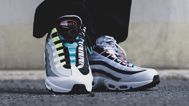 Nike Air Max 95 premium by you, custom, sneakers Netflix Sneakerheads