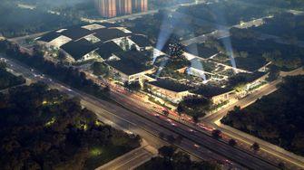ai city, kunstmatige intelligentie, mensen, robots, natuur, china