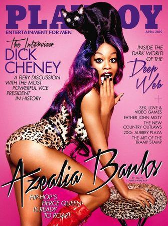 Azealia Banks, playboy cover, 2015, celebs, beroemdheden
