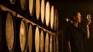 Whisky vrouw