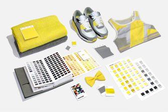 pantone, kleuren van het jaar, 2021, ultimate gray, grijs, illuminating, geel
