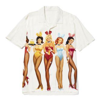 huf, playboy, shirt, collab, collectie, bowlingshirt