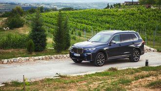 Manners X BMW: BMW X7 roadtrip