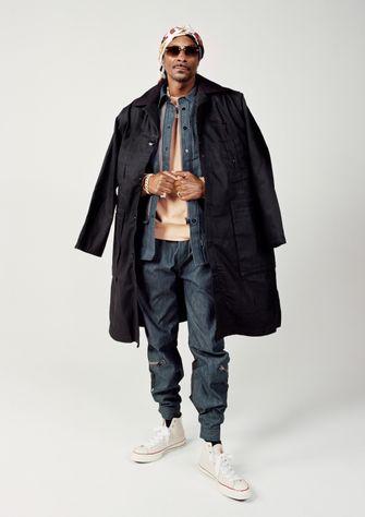 snoop dogg, g-star raw, denim booty, nieuw gezicht, rapper