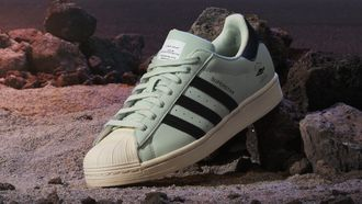 adidas, the child x superstar, baby yoda, sneakers