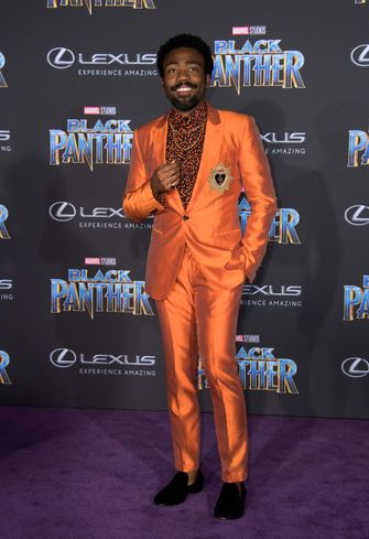 donald glover, stijl, looks, pakken, style game, outfits