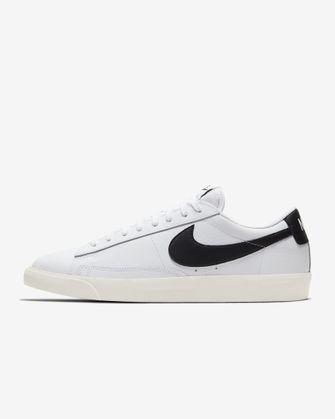 Nike Blazer Low Leather, witte sneakers, nike, korting, sale
