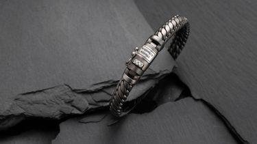 armband, buddha to buddha, black rhodium, cadeau, collectie, gratis, winnen