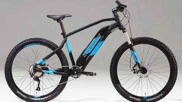 elektrische mountainbike, elektrische fiets, betaalbare, goedkope, e-bike, decathlon, rockrider
