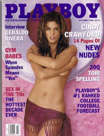 cindy crawford, playboy, beroemdheden, jaren 90