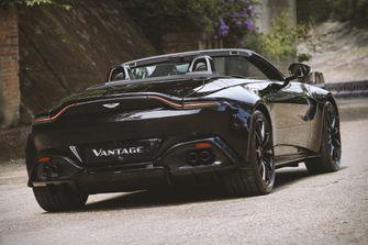 aston martin A3 Vantage Roadster, 100 jaar, achter