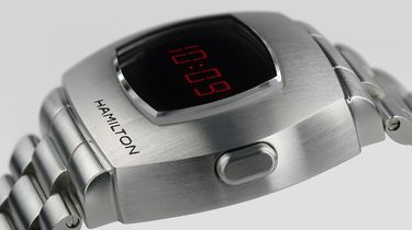 hamilton, psr, pulsar, eerste digitale horloge, heruitgave