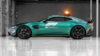 Aston-Martin-Vantage-25, formule 1 safety car, 2