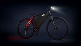 wau bike,elektrische fiets, e-bike, actieradius