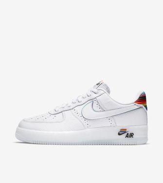 pride, sneakers, 2020, nike air force 1 betrue