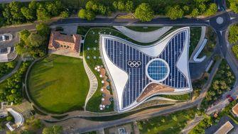 3xn architects, olympic house, hq, ioc, internationaal olympisch comité, lausanne, architectuur, zwitserland, olympische spelen