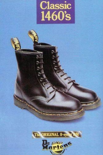 dr martens, modetrends, jaren 90