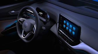 id410, interieur, interior, volkswagen id.4, vw, elektrische auto, futuristisch