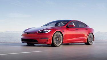 tesla model s plaid, snelste elektrische auto's, nederland