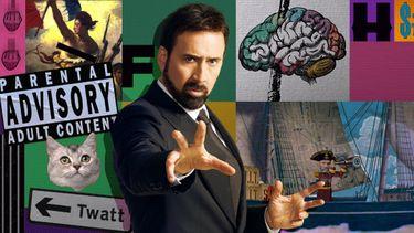 history of swear words, docu-serie, nicolas cage, vloekwoorden, netflix, documentaire