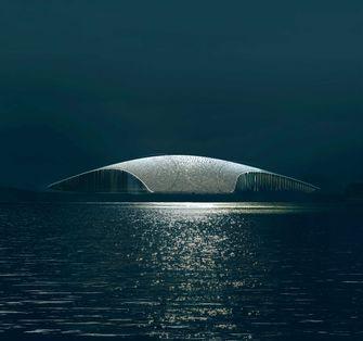 the whale, dorte mandrup, architectuur, noorwegen