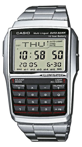 Casio DBC-32D-1AES, stijlvolle horloges, onder de 100 euro