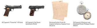 Al Capone veiling wapens