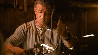 Stallone in Last Blood