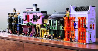 LEGO Harry Potter 75978 Diagon Alley VIP Punten korting