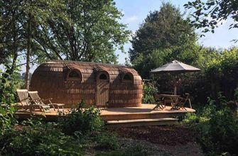 scandinavisch relaxen in Friesland, airbnb, workation in nederland, populairste huisjes