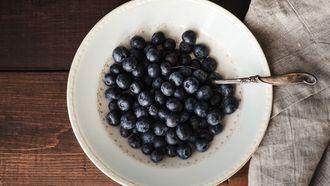 blauwe bessen, superfoods, sneller afvallen