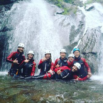 canyoning in europa, tirol, vriendenuitje