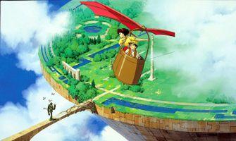 Studio Ghibli Castle in the Sky