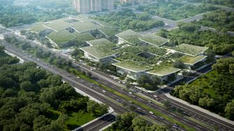 ai city, kunstmatige intelligentie, mensen, robots, natuur, china, big, terminus group