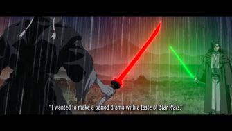 Ronin: Star Wars duikt in het samoerai-verleden van de Sith, inclusief katana's!