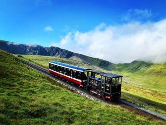 Snowdon Mountain Railway, wales, treinreizen, trein, vakantie, groot brittannië
