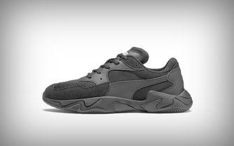 sneaker puma grijs