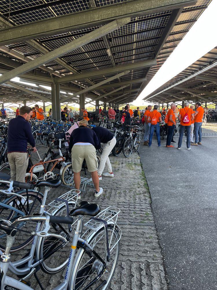 De fietsenstalling