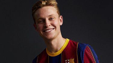 frenkie de jong, nieuw shirt, fc barcelona