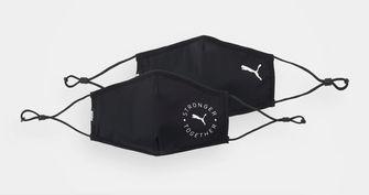 zwart mondkapje puma tegen hooikoorts