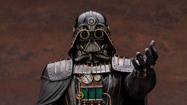 Darth Vader omgetoverd tot steampunk-schurk voor ultiem collector's item