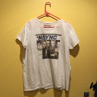 depop, nsync, tshirt, 90s